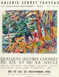 Expo 61 - Galerie Serret-Fauveau