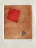 Carré rouge et triangle bleu