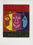 AF 1956 - Exposition Vallauris Reproduction pour collectionneurs par Pablo Picasso