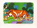 PA - Tigre buvant