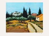Provence : paysage des Alpilles