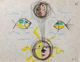 L'âge du verseau : visages et poissons