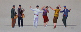 La danse du Fendango au Pays Basque