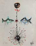 L'âge du verseau : poissons et étoile