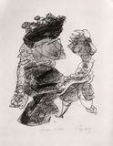 Portraits VIII : La femme et le pantin