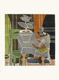 Expo 61 - Musée Galliéra (avant la lettre) Reproduction pour collectionneurs par Georges Braque