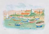 Saint Tropez  plage des Canebiers