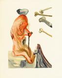 Divine Comedie, Enfer 18: Les Trompeurs Reproduction pour collectionneurs par Salvador Dalí