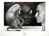 Visage au singe