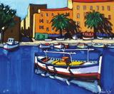 En Méditerranée : Barques à Ajaccio