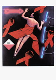 Stéphanie for fight AIDS Monaco