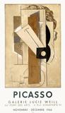 Expo 66 - Galerie Lucie Weill Reproductions de collection premium par Pablo Picasso