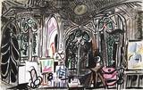 Carnet de Californie 01 Reproduction pour collectionneurs par Pablo Picasso