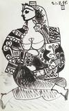 Carnet de Californie 02 Reproduction pour collectionneurs par Pablo Picasso