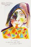 Expo 71 - Galerie Louise Leiris Reproduction pour collectionneurs par Pablo Picasso