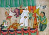 Au Cirque - Pierrot