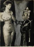 Verve - Femme et peintre I