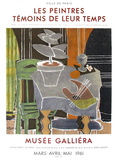 Expo 61 - Musée Galliéra Reproduction pour collectionneurs par Georges Braque