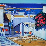 Mykonos : linge au soleil