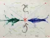 L'âge du verseau : poissons et hyppo