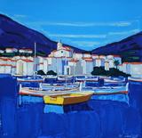 Espagne Cadaquès : barques
