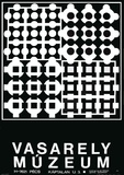 Expo Vasarely Muzeum Reproduction pour collectionneurs par Victor Vasarely