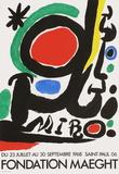 Fondation Maeght Reproduction pour collectionneurs par Joan Miró