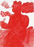 Le CycIIste Rouge
