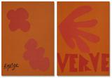 Verve - Couverture Reproductions de collection premium par Henri Matisse