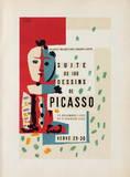 Comédie Humaine : Frontispice Reproductions de collection premium par Pablo Picasso