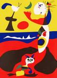 L'été Reproduction pour collectionneurs par Joan Miró