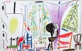Carnet de Californie 32 Reproduction pour collectionneurs par Pablo Picasso