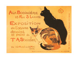 Two Cats  Steinlen Exhibit