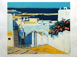 Mykonos : descente sur le port