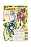 Ad for Elgin Bicycles