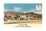 El Rancho Motel  Yermo  California