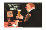 Ad for Burger Beer