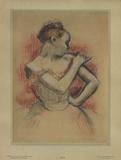 Jeune Danseuse Reproduction pour collectionneurs par Edgar Degas