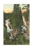 Twin Falls  Glacier National Park