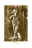 Cowboy and His Dog  Tom Tyler