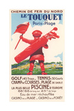 French Golf Travel Poster