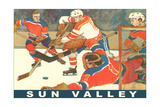 Sun Valley  Hockey Game