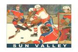 Sun Valley  Hockey Game