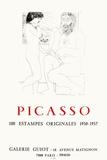 Expo 73 - Galerie Guiot Reproduction pour collectionneurs par Pablo Picasso