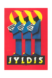 Ad for German Jyldis Cigarettes