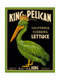 Green Pelican Crate Label