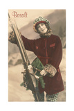 Old Fashioned Skier  Basalt