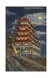 Pagoda  Mt Penn  Reading