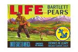 Life Pear Label