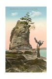 Siwash Rock  Vancouver  British Columbia